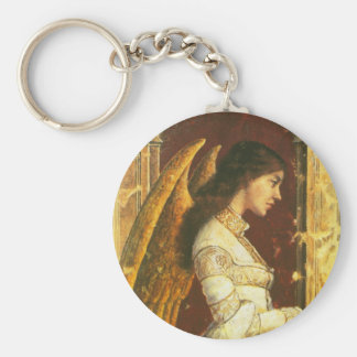 Angel Fresco Design Keychain