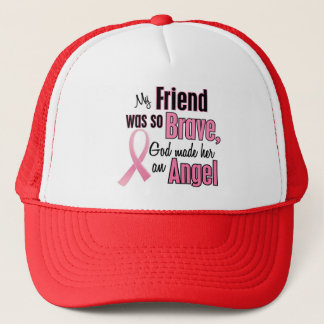 Angel FRIEND Breast Cancer T-Shirts & Apparel Trucker Hat