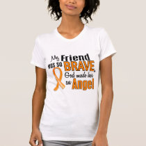 Angel Friend (Female) Leukemia T-Shirt