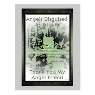 Angel Friends Postcard