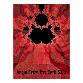 """""""Angel From The Dark Side"""" Poster"""