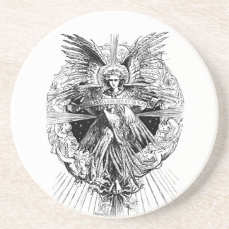 Angel from The Song of Bethlehem 1901 Coaster