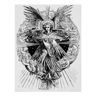 Angel from The Song of Bethlehem 1901 Poster
