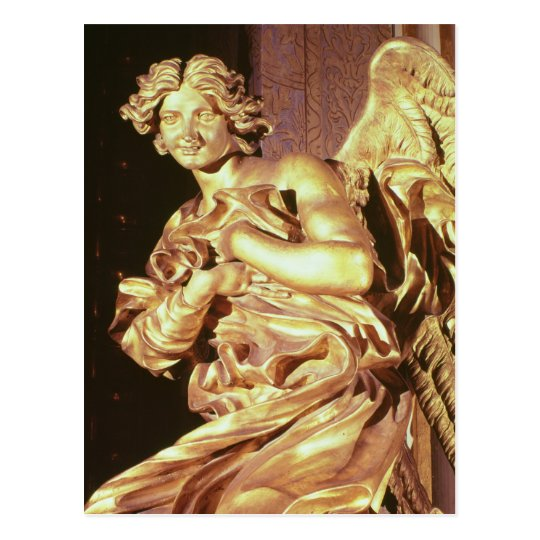 Angel from the tabernacle in the Blessed Postcard