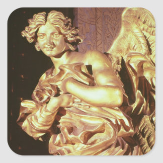 Angel from the tabernacle in the Blessed Square Sticker