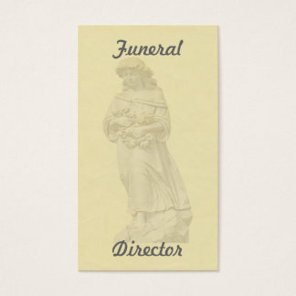 Angel Funeral Business Card