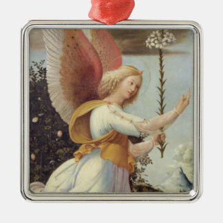 Angel Gabriel Metal Ornament