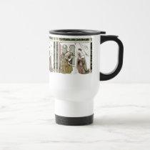 Angel Gabriel The Annunciatiion Travel Mug