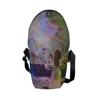 Angel Gazing Messenger Bag