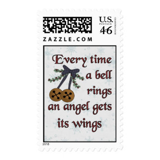 Angel Gets Its Wings Stamp
