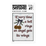 Angel Gets Its Wings Postage Stamp