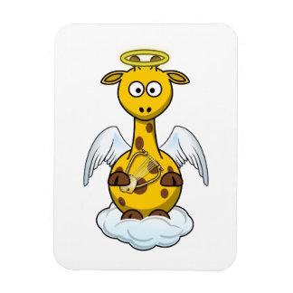 Angel Giraffe Magnet