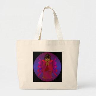 Angel Girl Tote Bags