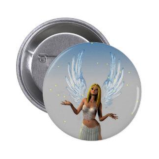 Angel Girl (Button)