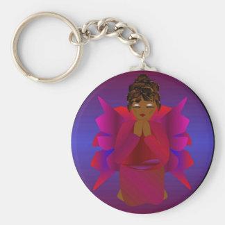 Angel Girl Key Chain