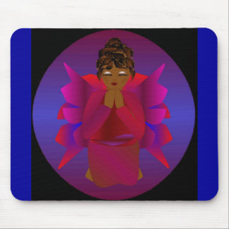 Angel Girl Mouse Pad