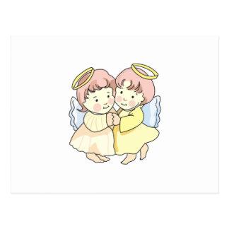 ANGEL GIRLS POSTCARD