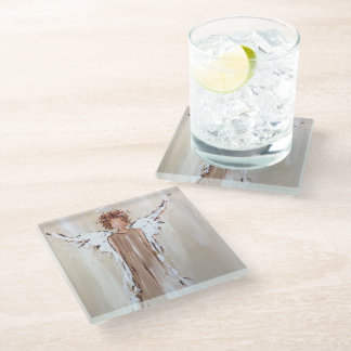 Angel Glass Coaster