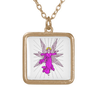 Angel Gold Plated Necklace