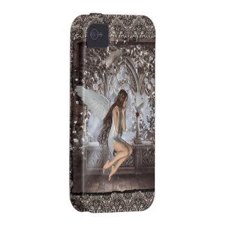 Ángel gótico y su paloma iPhone 4 funda