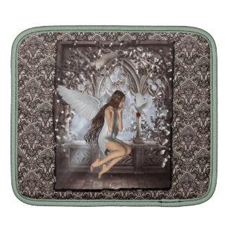 Ángel gótico y su paloma mangas de iPad