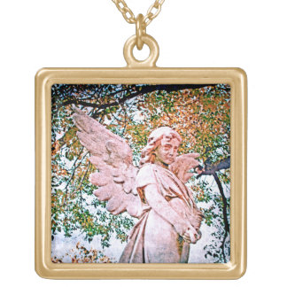 Angel Grace Gold Plated Necklace