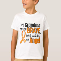 Angel Grandma Leukemia T-Shirt