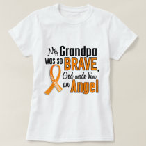 Angel Grandpa Leukemia T-Shirt