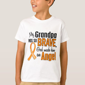 Angel Grandpa Leukemia T-Shirt