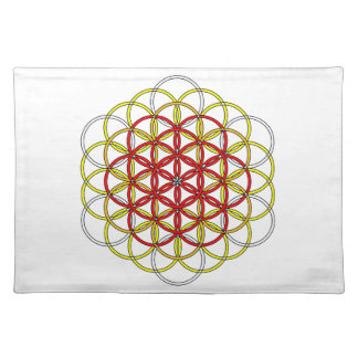 Angel Grid Collection Cloth Placemat