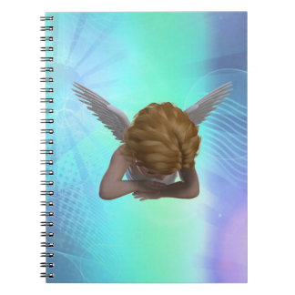 Ángel gritador cuadernos