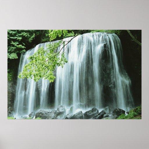 Angel Hair Waterfalls Poster