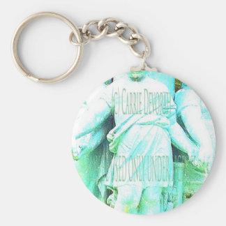 Angel hands 4 copy 3.jpg basic round button keychain