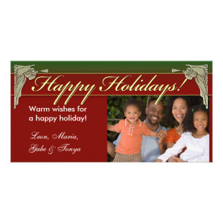 Angel Happy Holiday Photo Card Template