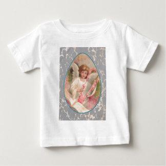 Angel Harp Music Easter Egg Cherry Tree Baby T-Shirt