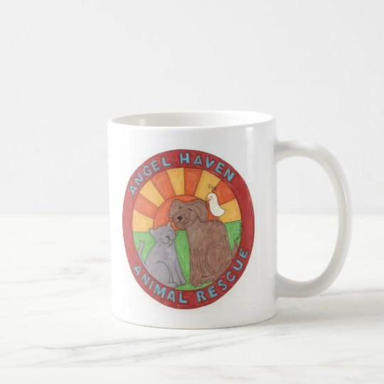 Angel Haven Animal Rescue Logo Coffee Mug