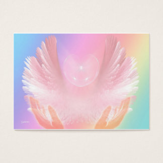 Angel Healing Light Business Card