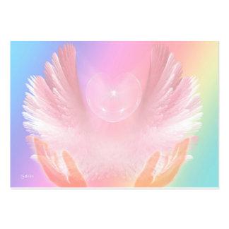 Angel Healing Light Large Business Card