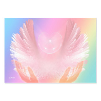 Angel Healing Light Pack Of Chubby Business Cards
