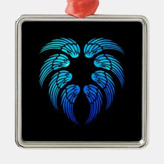 Angel Heart Metal Ornament