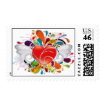 Angel_Heart Postage Stamp