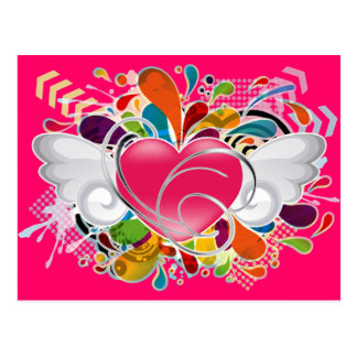 Angel_Heart Post Card