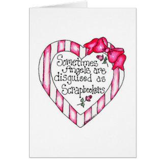 Angel Heart Scrapbooker Card