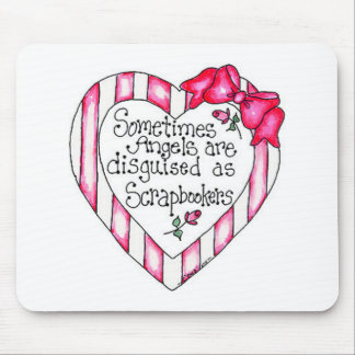 Angel Heart Scrapbooker Mouse Pad