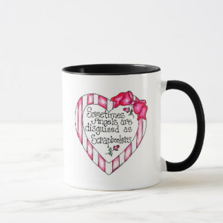 Angel Heart Scrapbooker Tshirts and Gifts Mug