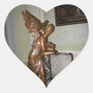 Angel Heart Sticker