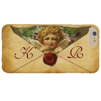 ANGEL HEART WAX SEAL PARCHMENT Monogram Barely There iPhone 6 Plus Case