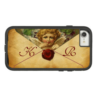 ANGEL HEART WAX SEAL PARCHMENT Monogram Case-Mate Tough Extreme iPhone 8/7 Case