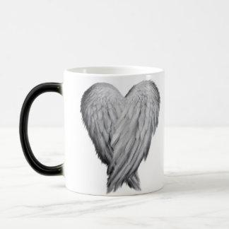 Angel heart wings Art design mug
