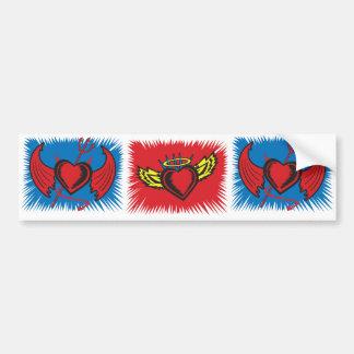 Angel Hearts Bumper Sticker